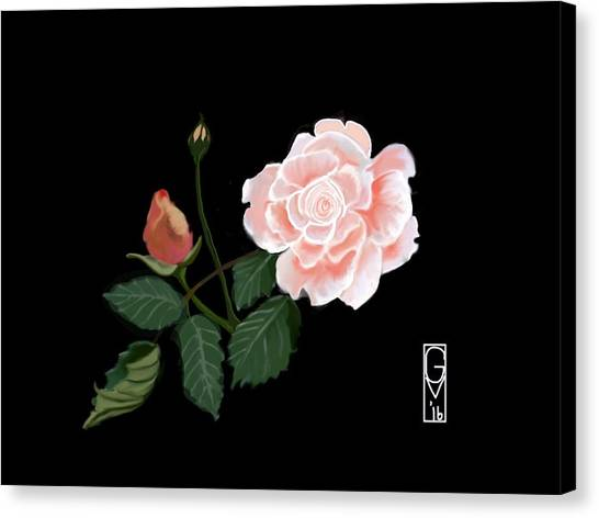 Victorian Rose Canvas Print