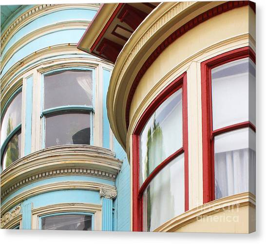 Victorian San Francisco Canvas Print