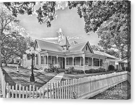 Victorian Sunday House Canvas Print