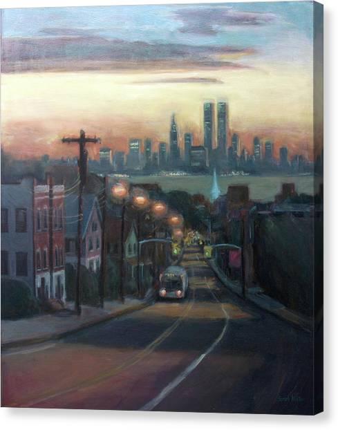 Manhattan Canvas Print - Victory Boulevard At Dawn by Sarah Yuster