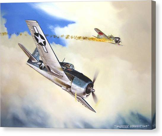 Canvas Print - Victory For Vraciu by Marc Stewart