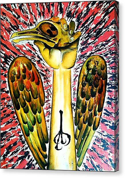 Victory Of Perseverance Canvas Print by Paulo Zerbato