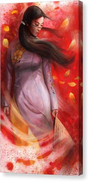 Vietnamese Canvas Print - Vietnam by Steve Goad