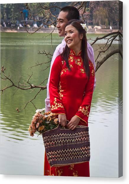 Vietnam Wedding Canvas Print