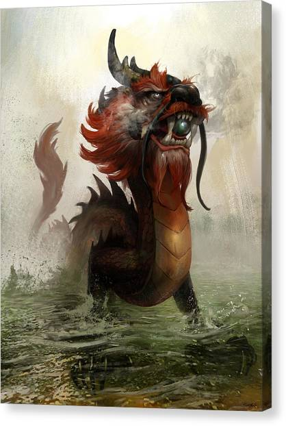 Vietnamese Dragon Canvas Print