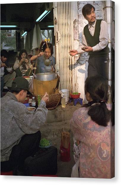 Travelpics Canvas Print - Vietnamese Street Food by Travel Pics