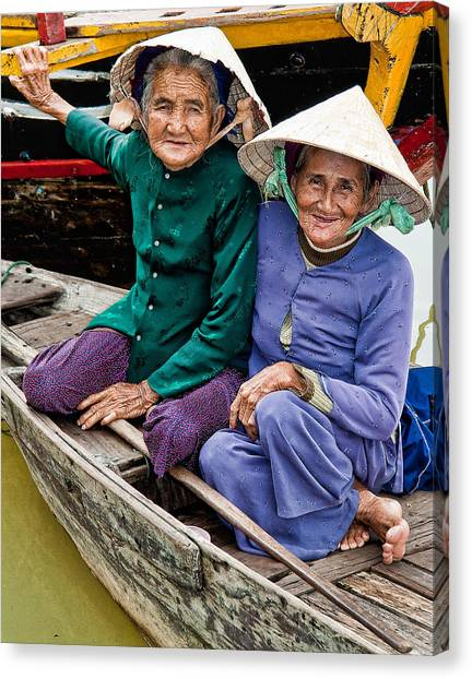 Vietnamese Women Canvas Print