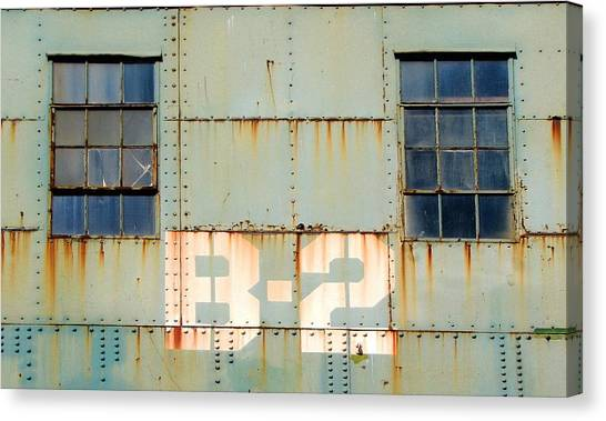 View B-2 Canvas Print