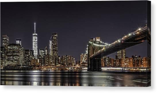 View From Brooklyn Bridge Park Canvas Print