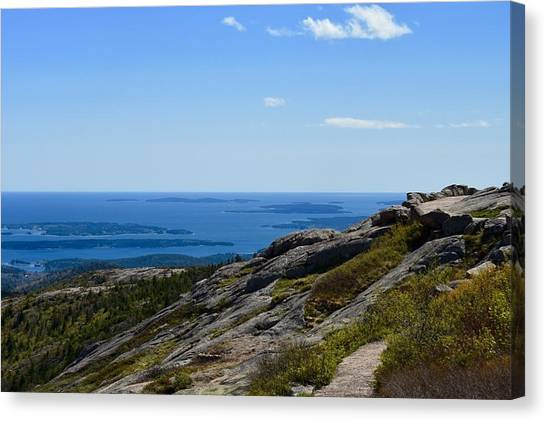 View From Cadillac Mountain Canvas Print