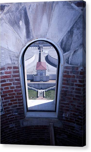 View From Compton Hill Water Tower Canvas Print