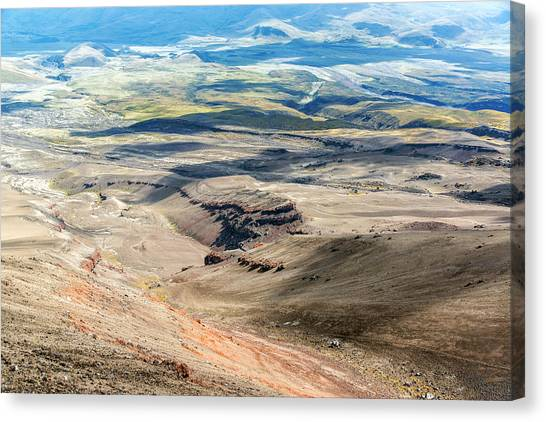 Cotopaxi Canvas Print - View From Cotopaxi Volcano by Jess Kraft