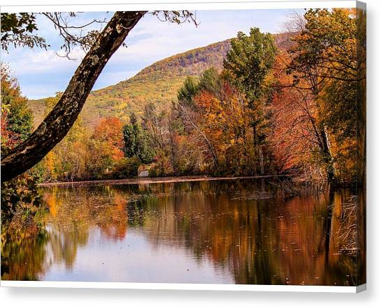 View From Manhan Rail Trail Canvas Print