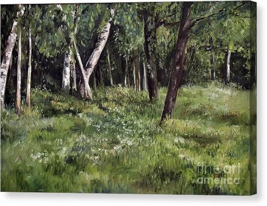 View From My Studio Canvas Print