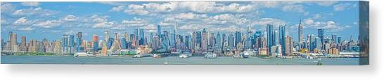 View From New Jersey 2 Canvas Print