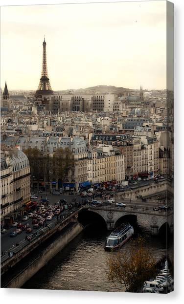View From Notre Dame Canvas Print by Cabral Stock