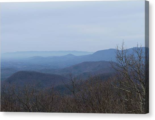 View From Springer Mountain Canvas Print