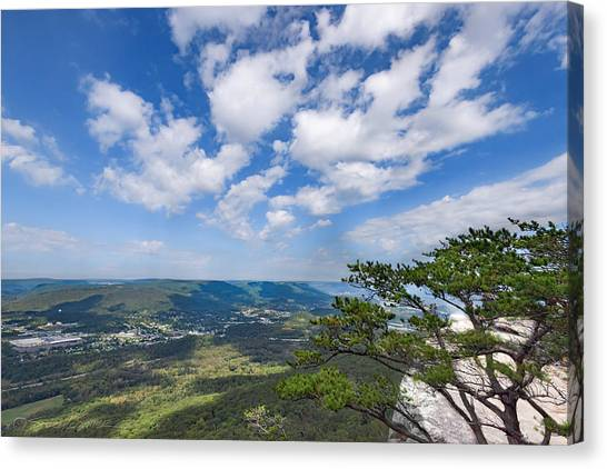 View From Sunset Rock 3 Canvas Print