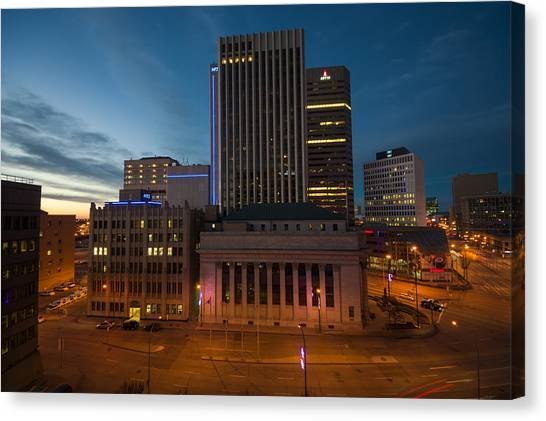 View From The Fairmont Canvas Print by Bryan Scott
