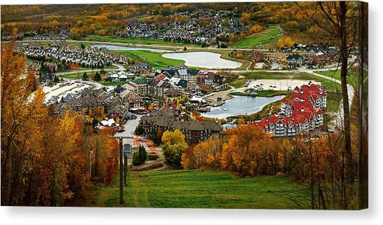 View From The Mountain Canvas Print