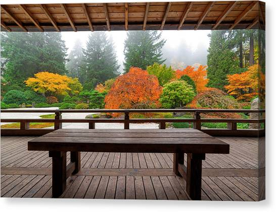 View From The Pavilion Canvas Print