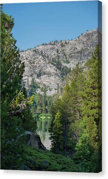 View Of Eagle Lake Canvas Print