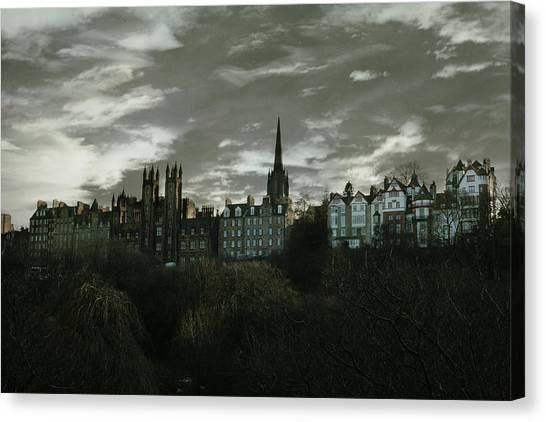 Uk Canvas Print - view of Edinburgh II by Cambion Art