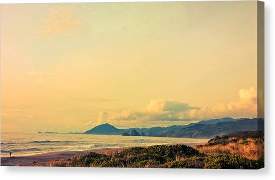 View Of Humbug And Sisters Canvas Print