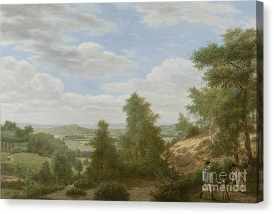 Rijksmuseum Canvas Print - View Of The Plain Of Montmorency In St Leu by Celestial Images