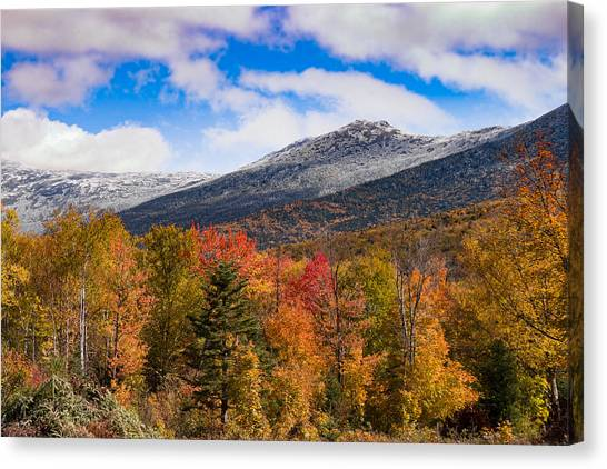 View Of The Presidential Mountains Canvas Print