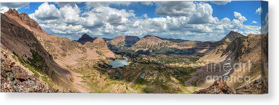 Canvas Print featuring the photograph View Of The Uintas by Spencer Baugh