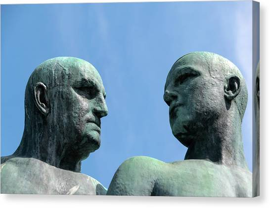 Canvas Print - Vigeland 1 by Steven Richman