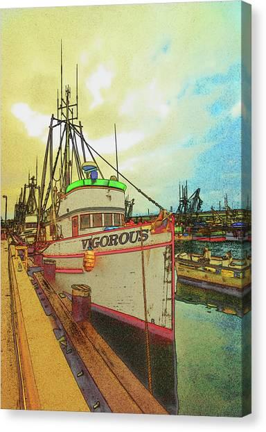 Vigorous Canvas Print by Dale Stillman