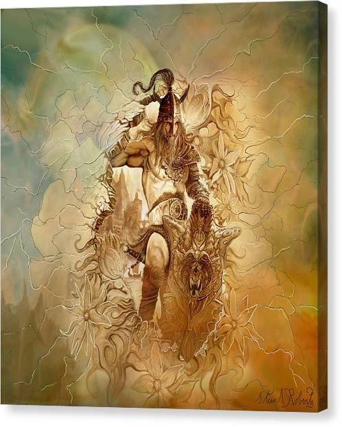 Viking Raider Canvas Print