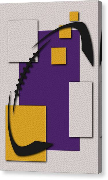 Viking Art Canvas Print - Vikings Football Art by Joe Hamilton