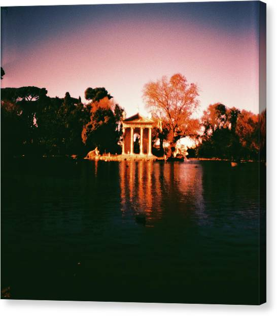 Villa Borghesse Rome Canvas Print