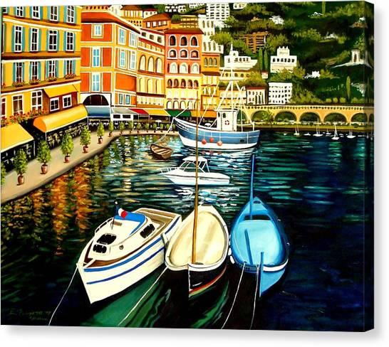 Villa Franche Canvas Print