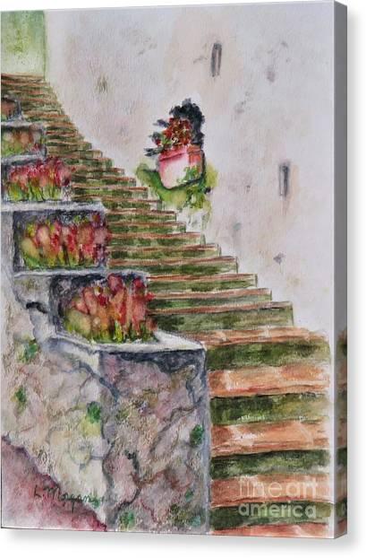 Villa Rufolo Canvas Print