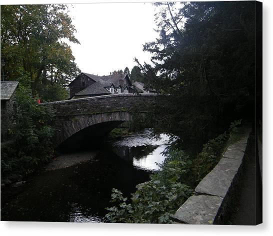 Village Bridge Canvas Print