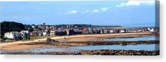 Village By The Sea Canvas Print by Lyle  Huisken