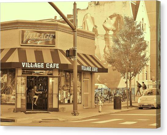 Canvas Print - Cup Of Coffee Latte? Richmond Va by Slawek Aniol