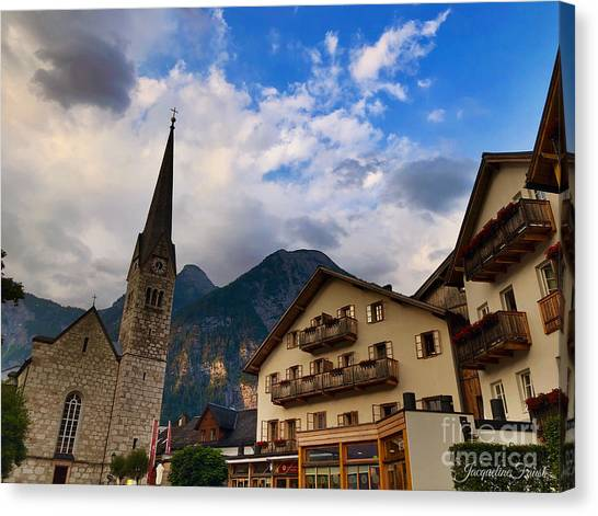 Village Hallstatt Canvas Print