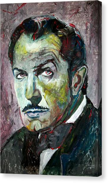 Grinch Canvas Print - Vincent Price by Marcelo Neira