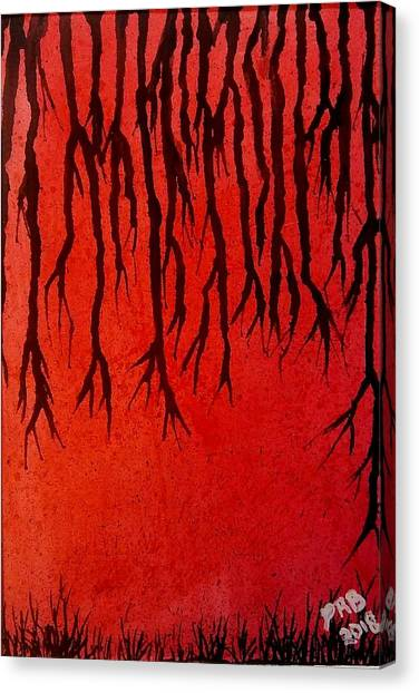 Canvas Print - Vines Of Depression by Pamula Reeves-Barker