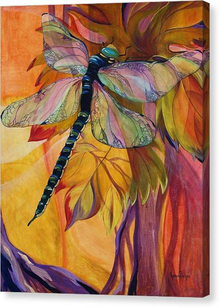 Vineyard Canvas Print - Vineyard Fantasy by Karen Dukes