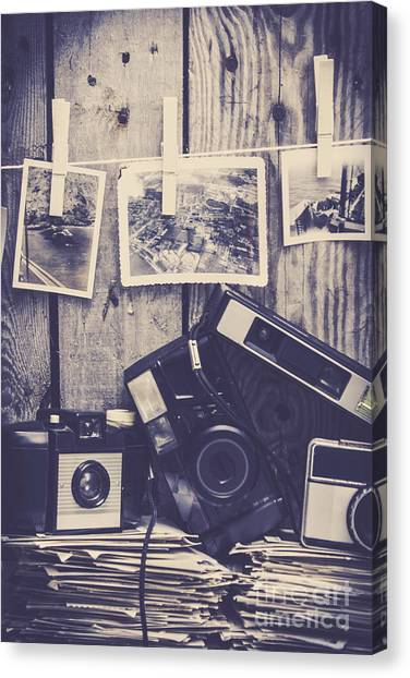 80s Canvas Print - Vintage Camera Gallery by Jorgo Photography - Wall Art Gallery