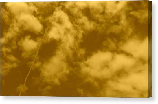 Big Sky Canvas Print - Vintage Clouds by Anamarija Marinovic