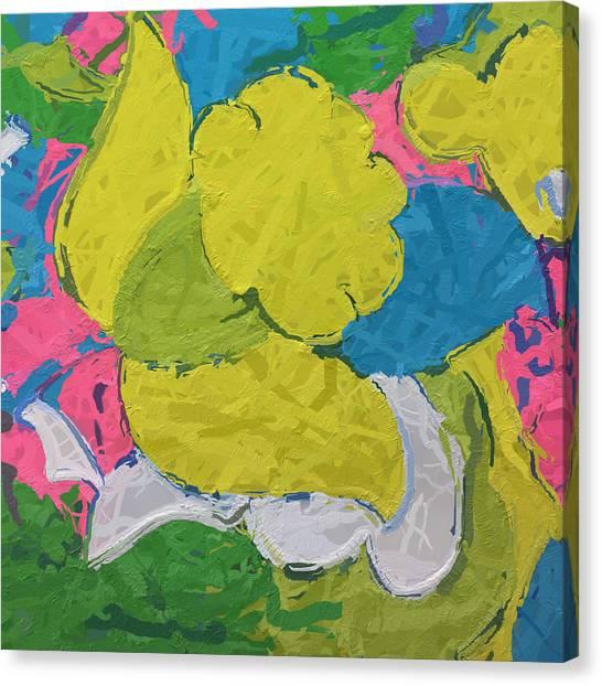 Canvas Print - Vintage Daffodil by Modern Art