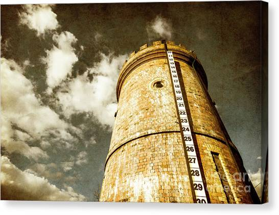 Tanks Canvas Print - Vintage Evendale Water Tower by Jorgo Photography - Wall Art Gallery