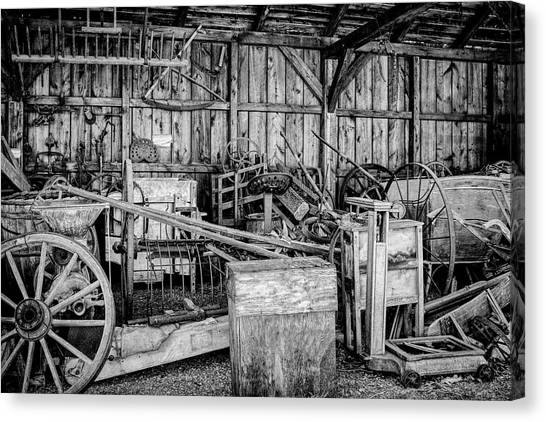 Vintage Farm Display Canvas Print